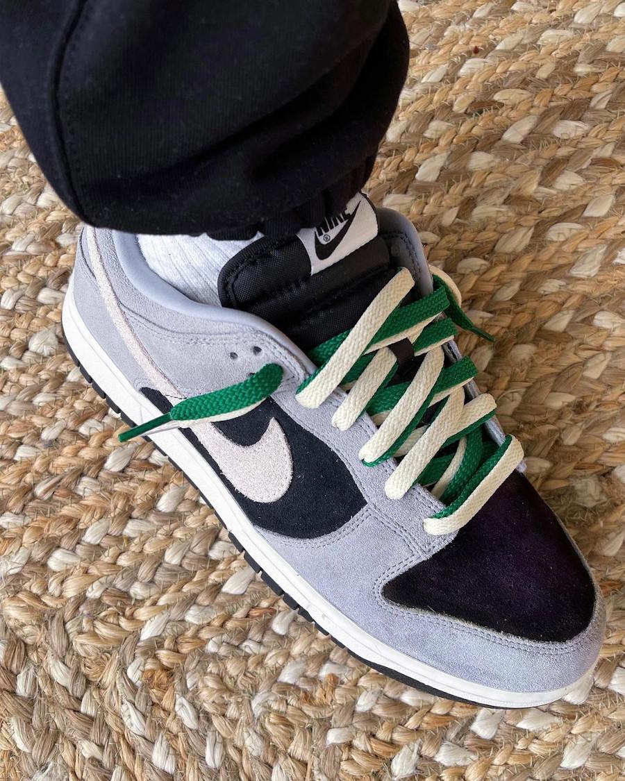 Nike Dunk Low By You Sacai on feet sneaker_nish