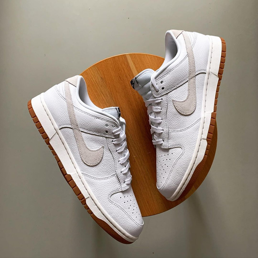 Nike Dunk Low By You White blanche soles_83