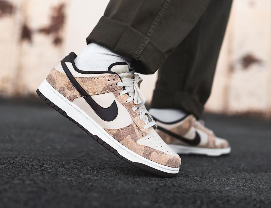 Nike Dunk Low Premium Cheetah (Animal Pack) on feet