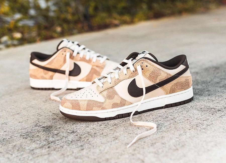 Nike Dunk Low Premium imprimé guépard et girafe (4-1)