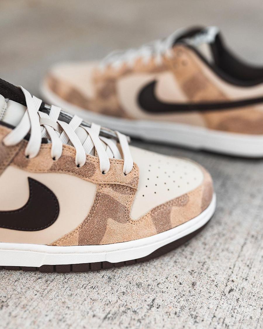 Nike Dunk Low Premium imprimé guépard et girafe (5)