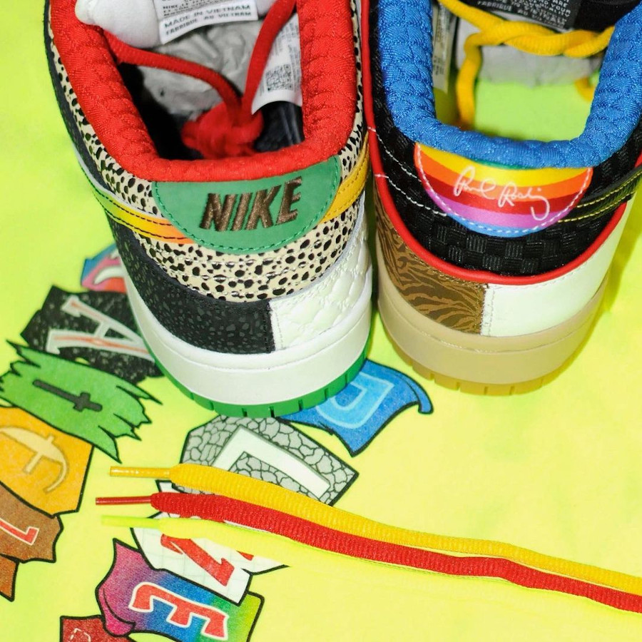 Nike Dunk Low Pro SB What The Multicolor 2021 (1)