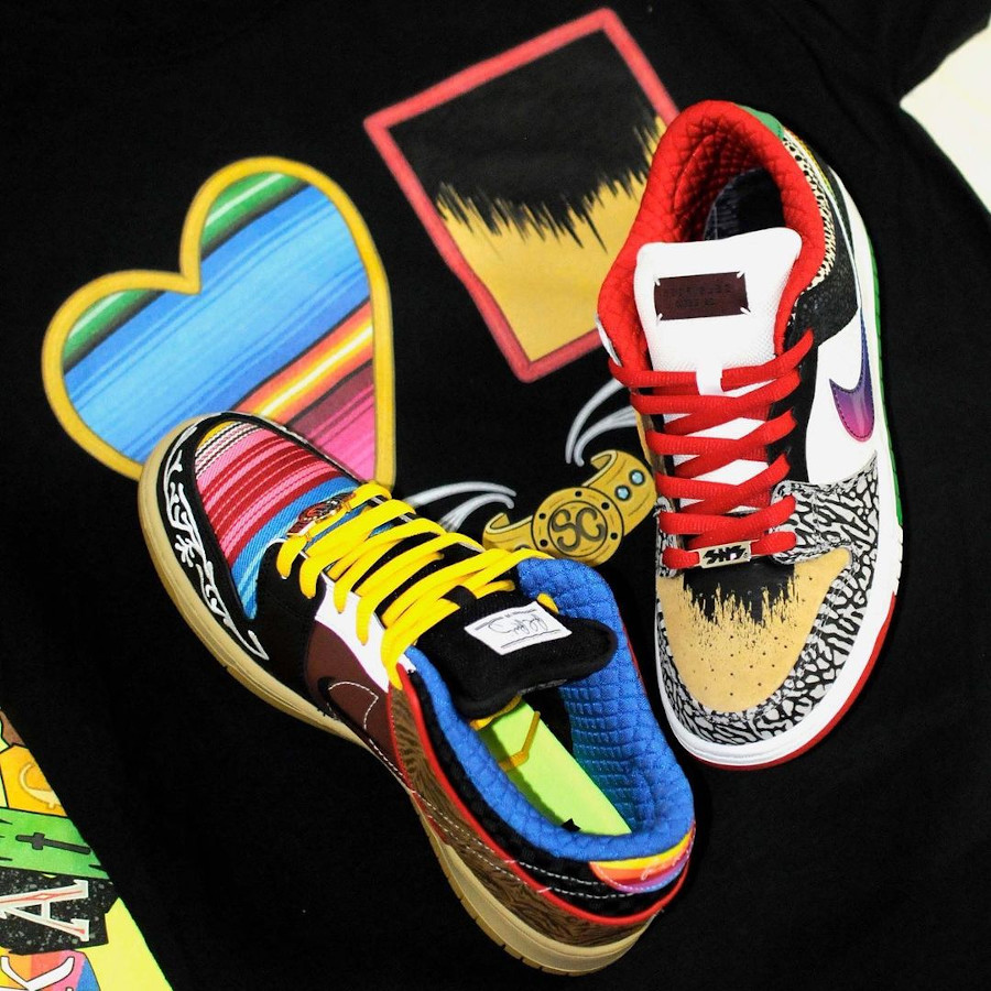 Nike Dunk Low Pro SB What The Multicolor 2021 (3)