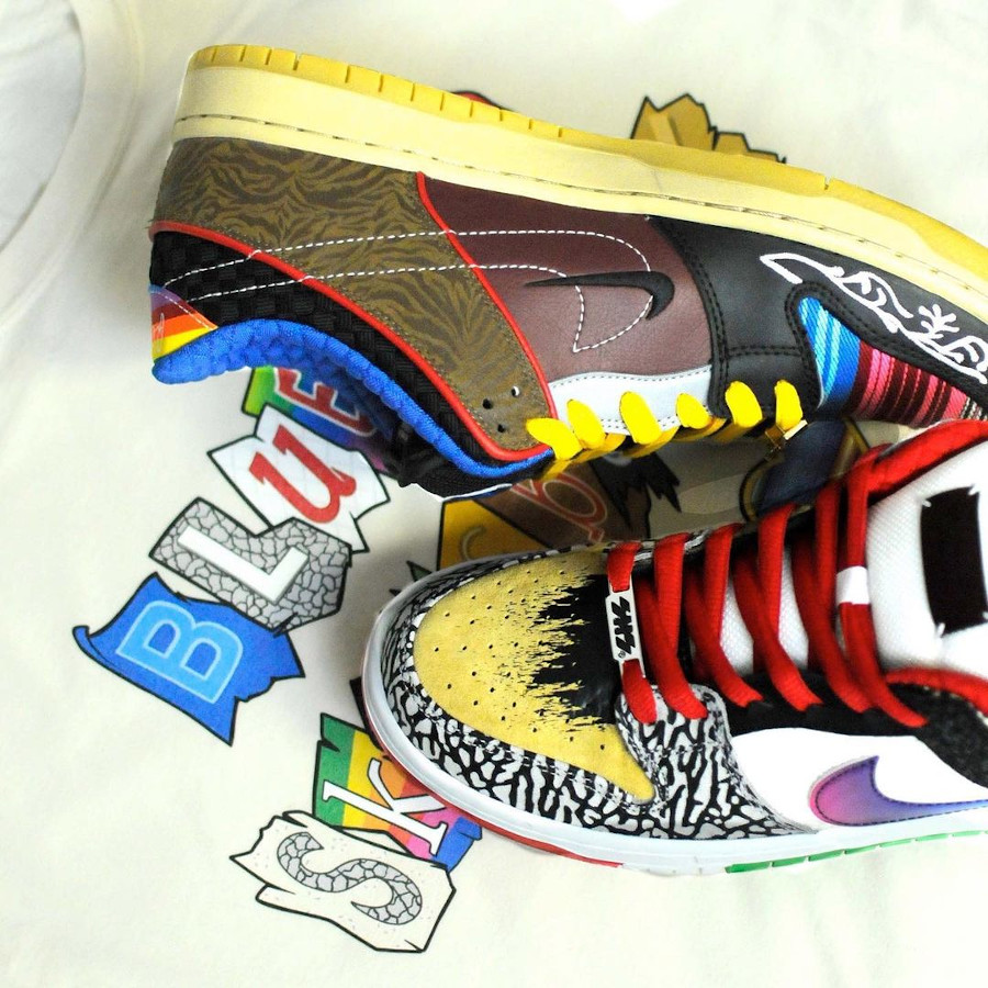 Nike Dunk Low Pro SB What The Multicolor 2021 (4)