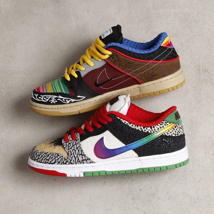 Nike Dunk Low Pro SB What The Multicolor 2021 (5)