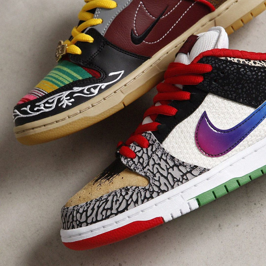 Nike Dunk Low Pro SB What The Multicolor 2021 (6)