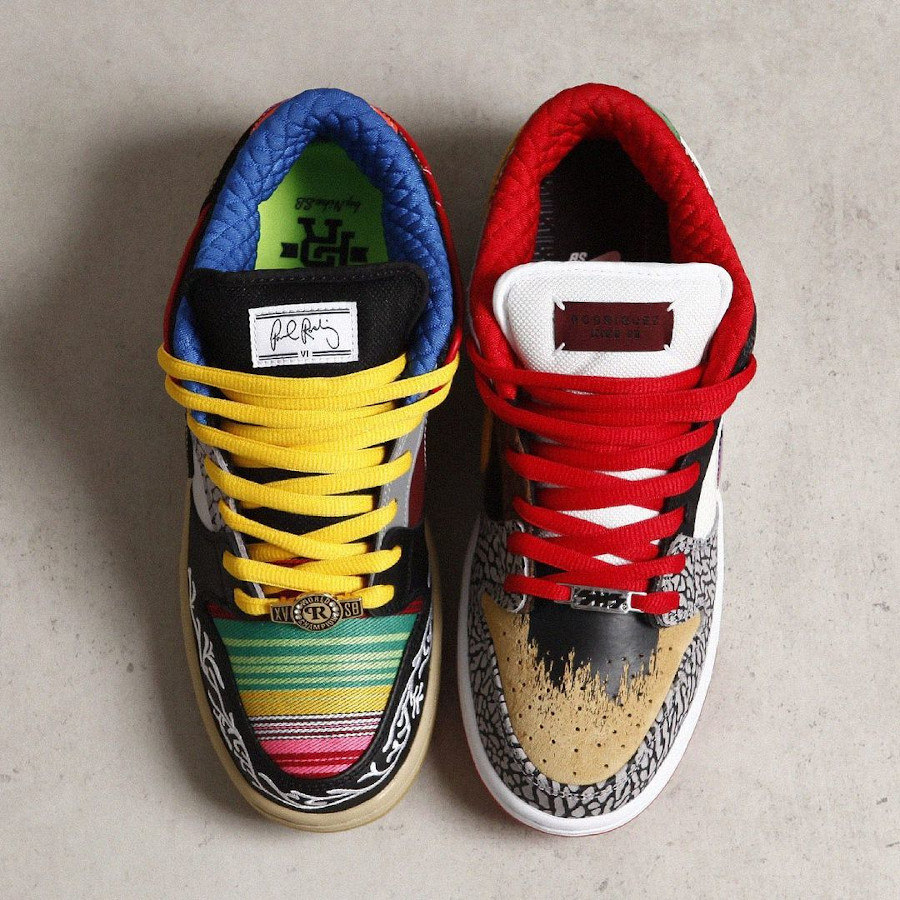 Nike Dunk Low Pro SB What The Multicolor 2021 (7)
