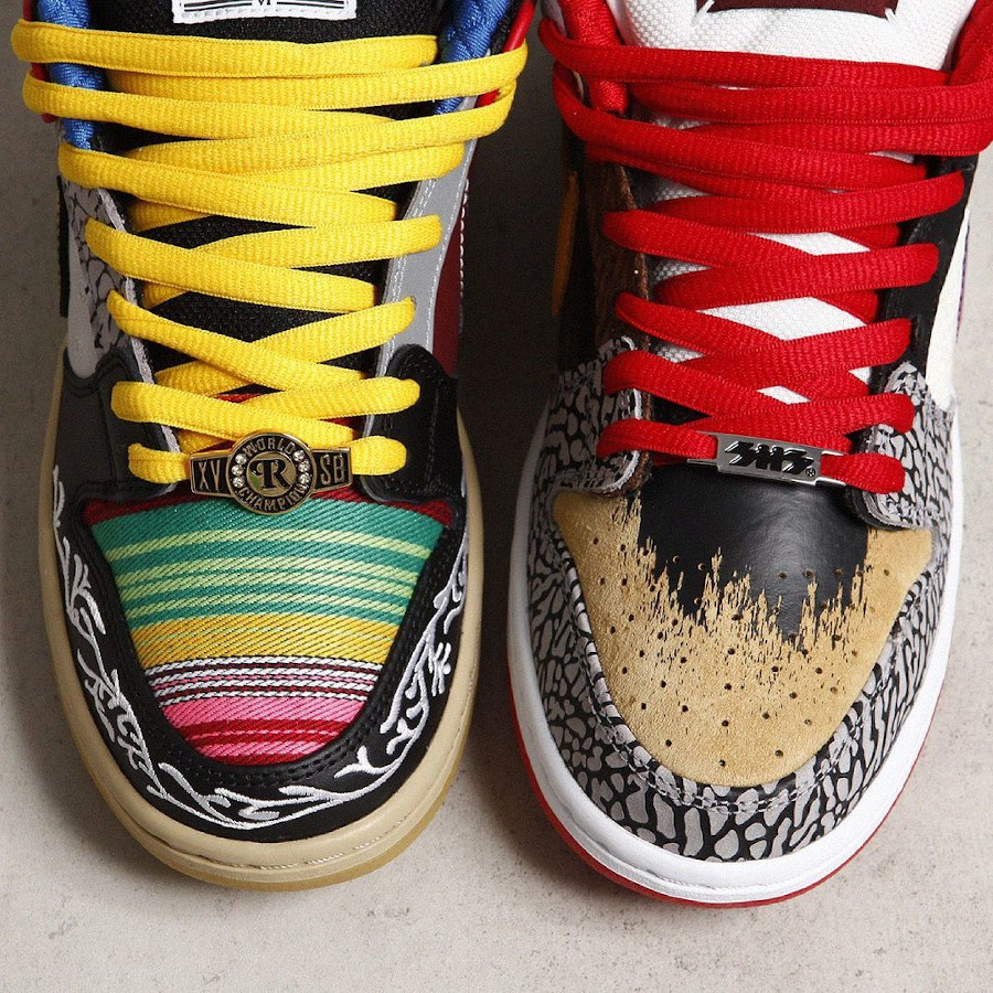 Nike Dunk Low Pro SB What The Multicolor 2021 (8)