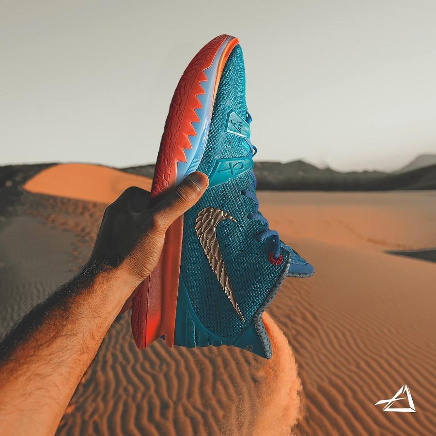 Nike Kyrie Irving 7 Teal Orange (1)