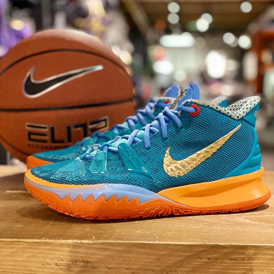 Nike Kyrie Irving 7 Teal Orange (2)