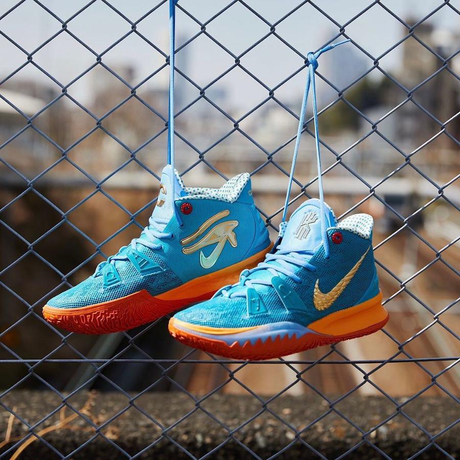 Nike Kyrie Irving 7 Teal Orange (3)