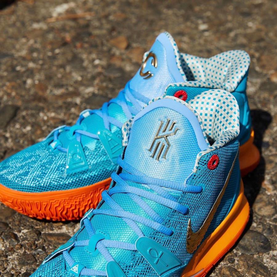 Nike Kyrie Irving 7 Teal Orange (4)