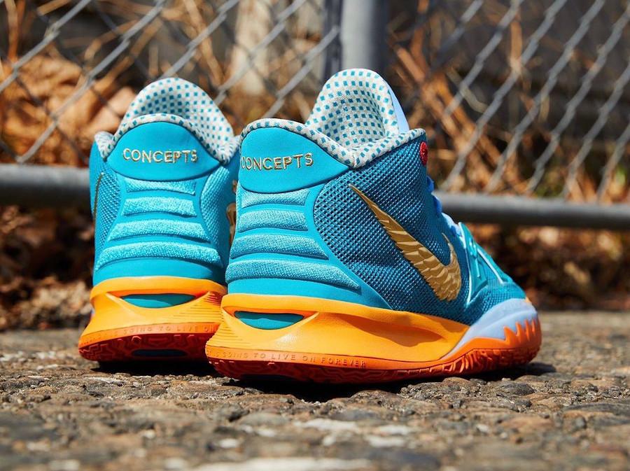Nike Kyrie Irving 7 Teal Orange (5)