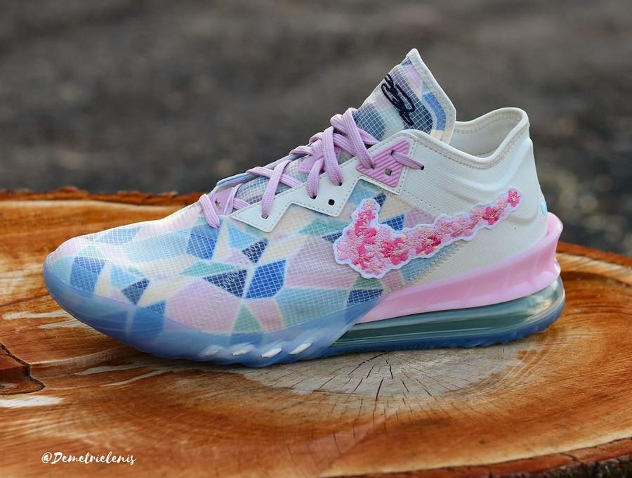 Nike Lebron 18 Low Sakura Cherry Blossom