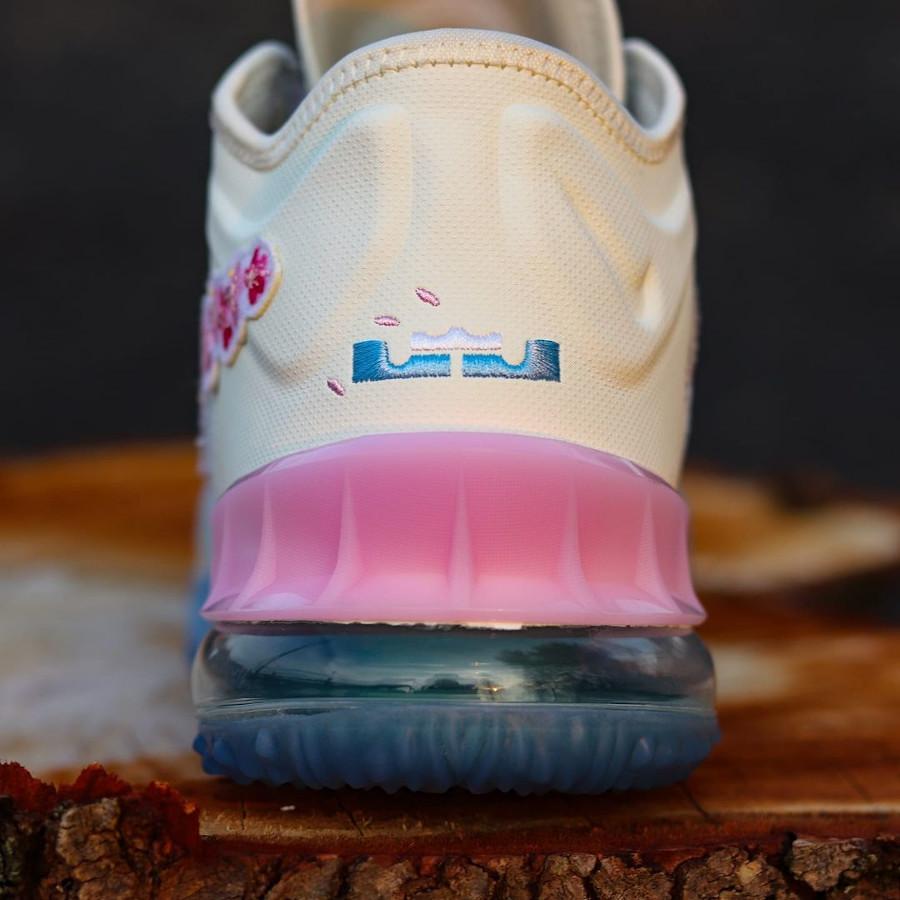 Nike Lebron 18 Low fleurs de cerisier (3)