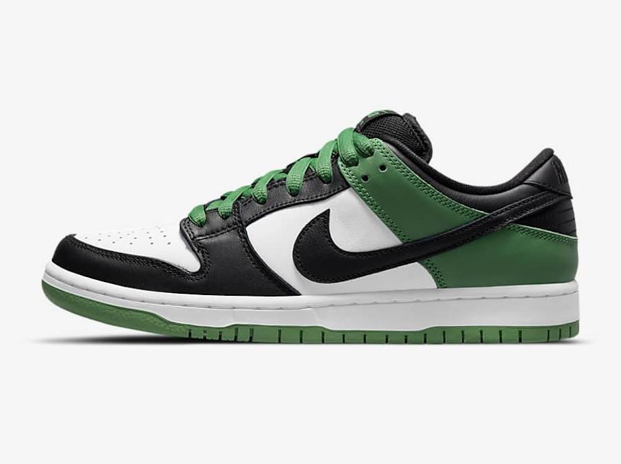Nike SB Dunk Low Pro Classic Green date de sortie