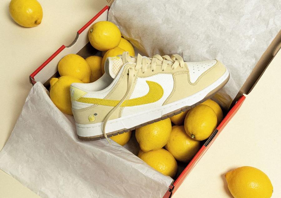 Nike W Dunk Low Parisian Lemonade Drop Citron DJ6902