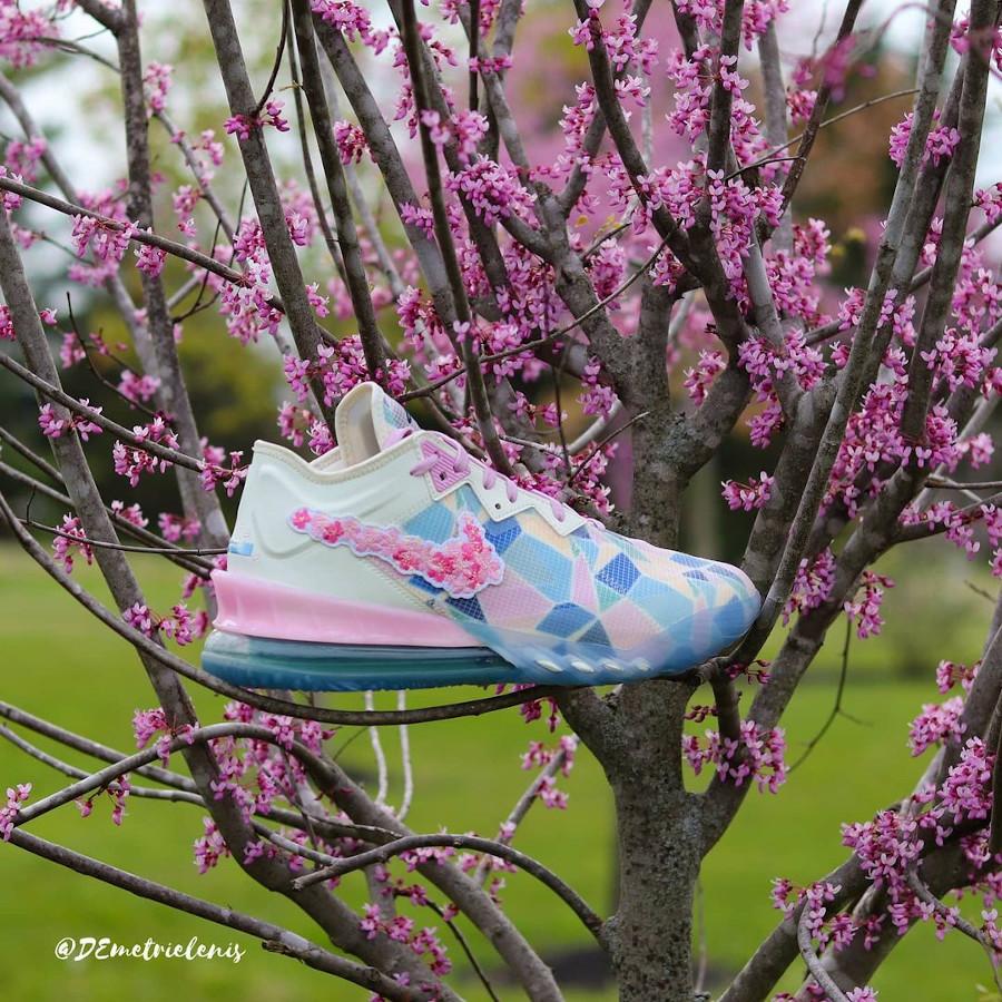 Nike x Atmos Lebron 18 Low NRG Sakura Cherry Blossom