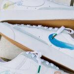 Mayumi Yamase x Nike Blazer Low '77 Flyleather 'White'