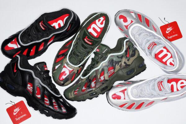 Nike x Supreme AM96 transparentes CV7652