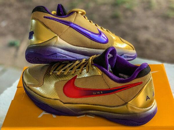 Nike x Undefeated Kobe 5 Protro Hall of Fame DA6809-700