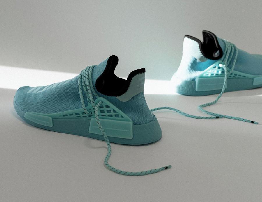 PW x Adidas NMD Human Race bleu aquatique (1)