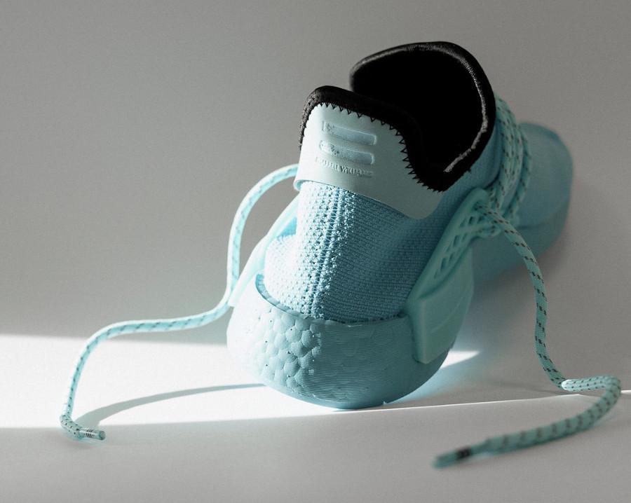 PW x Adidas NMD Human Race bleu aquatique (3)