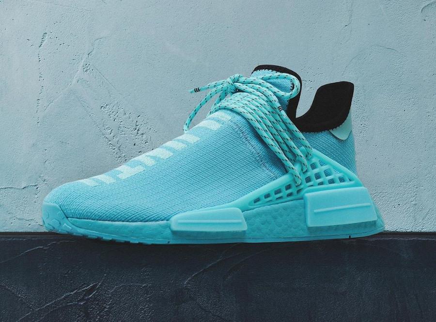 PW x Adidas NMD Human Race bleu aquatique (4)