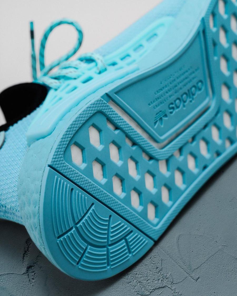 PW x Adidas NMD Human Race bleu aquatique (5)