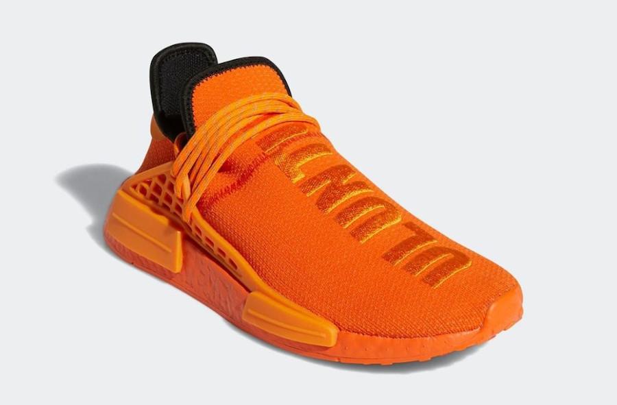 Pharrell-adidas-NMD-Hu-Orange-GY0095-date-de-sortie