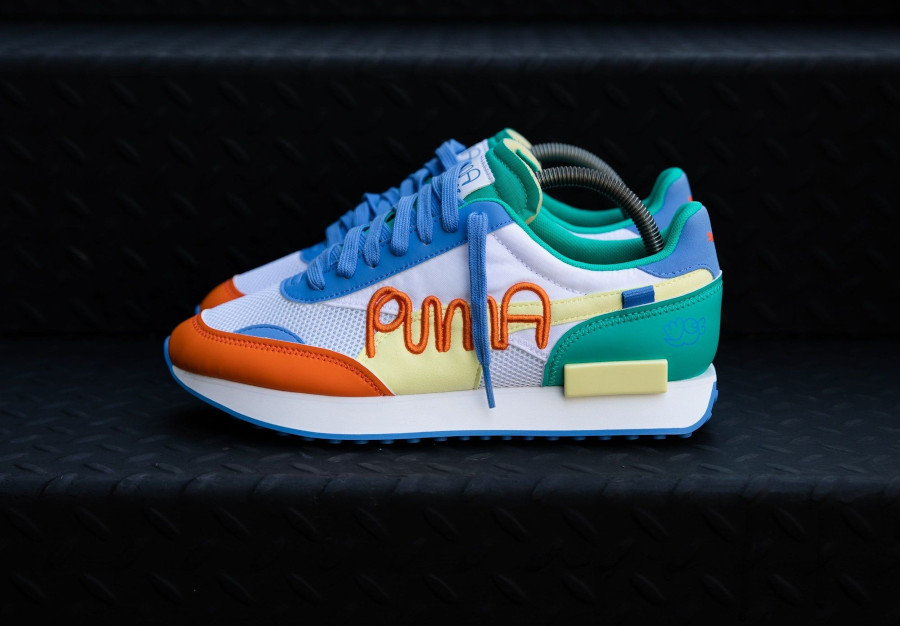 Puma x Mr Doodle Future Rider Embroidery 375790-01
