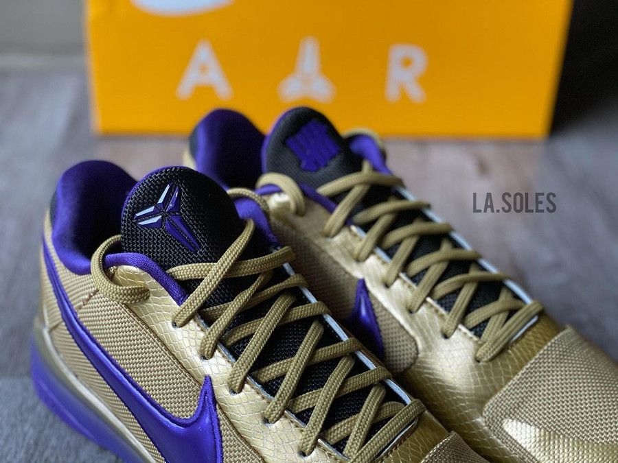 UNDFTD x Nike Kobe V Multicolor Gold Purple (1)