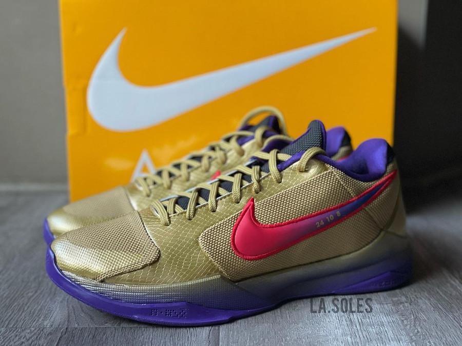 UNDFTD x Nike Kobe V Multicolor Gold Purple (3)