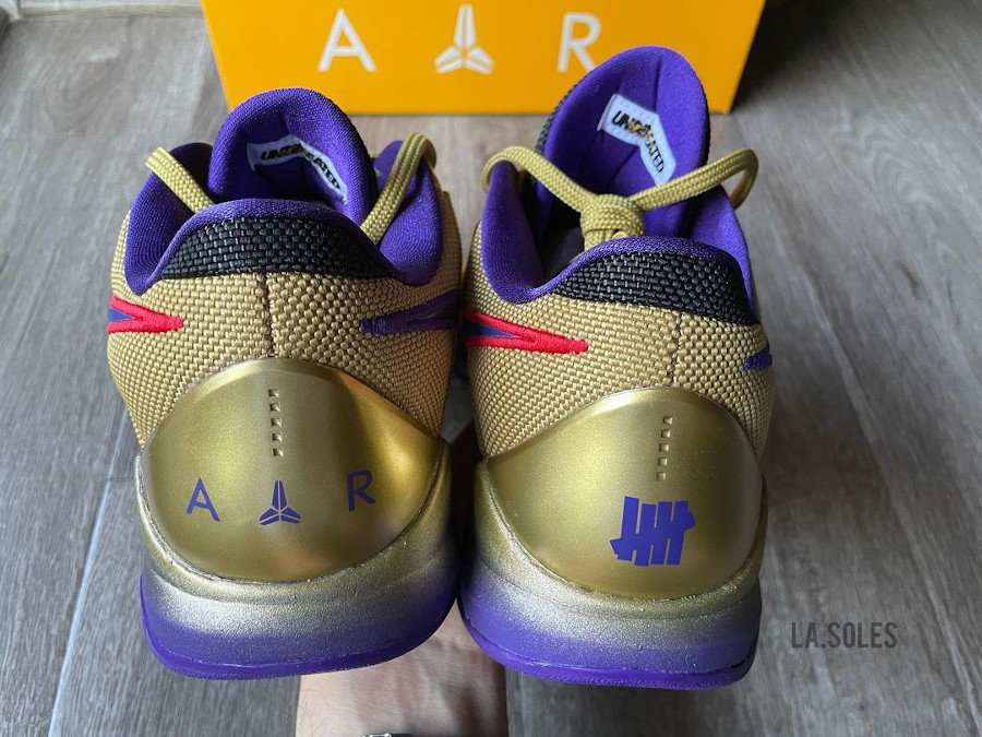 UNDFTD x Nike Kobe V Multicolor Gold Purple (4)