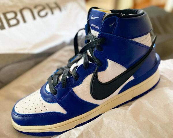 Yoon x Nike x Ambush Dunk High Deep Royal Blue CU7544
