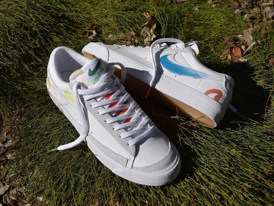 zmzm mayu x Nike Blazer Low 77 blanche (4)