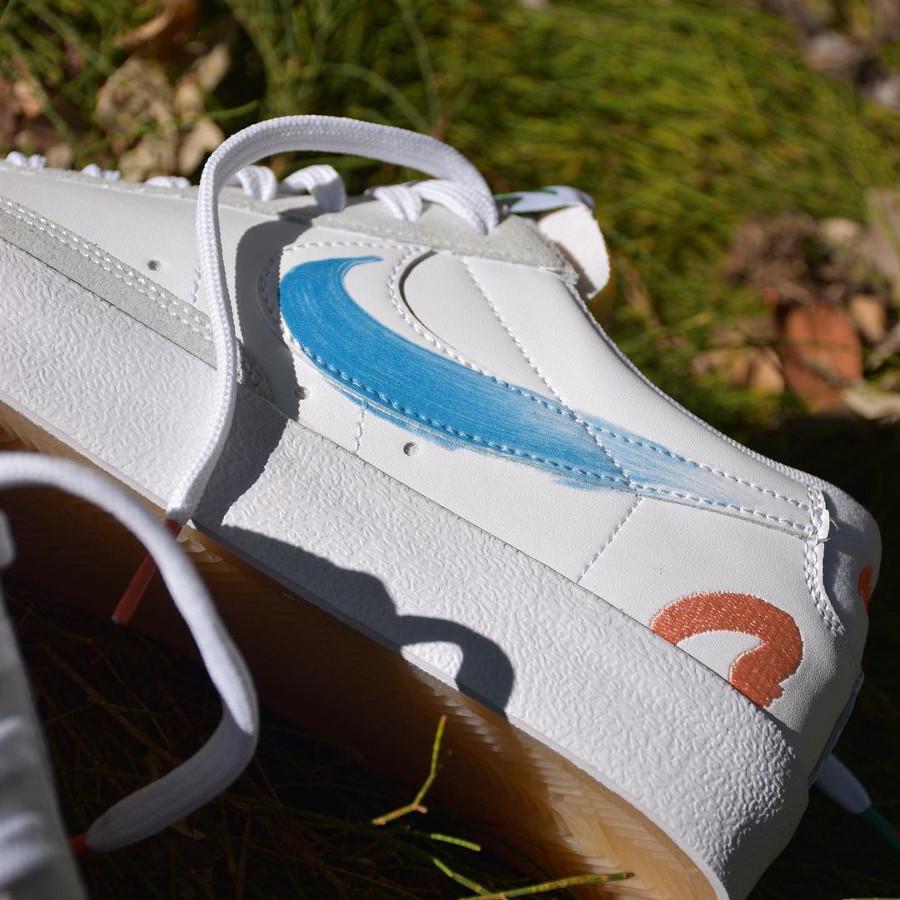 zmzm mayu x Nike Blazer Low 77 blanche (8)