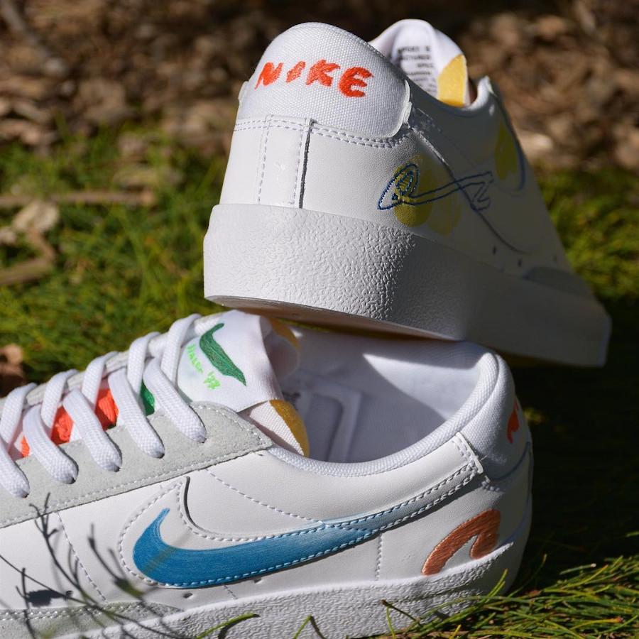 zmzm mayu x Nike Blazer Low 77 blanche (9)