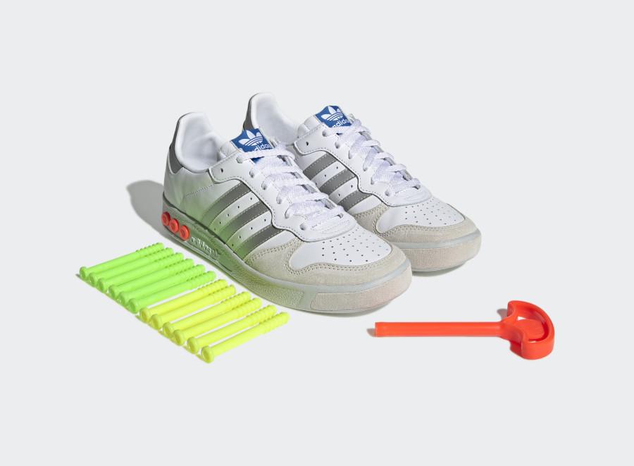 Adidas GS Metallic Silver