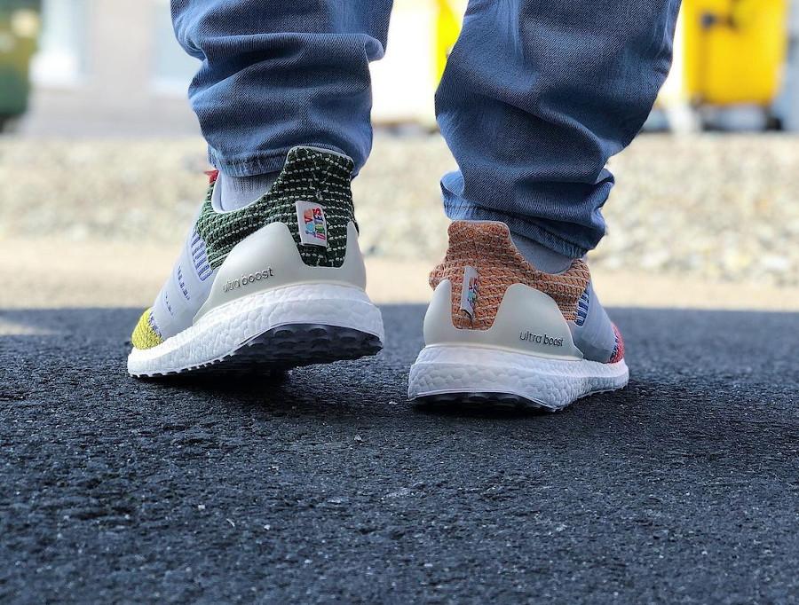 Adidas Ultra Boost Gay Pride 2021 on feet (1)