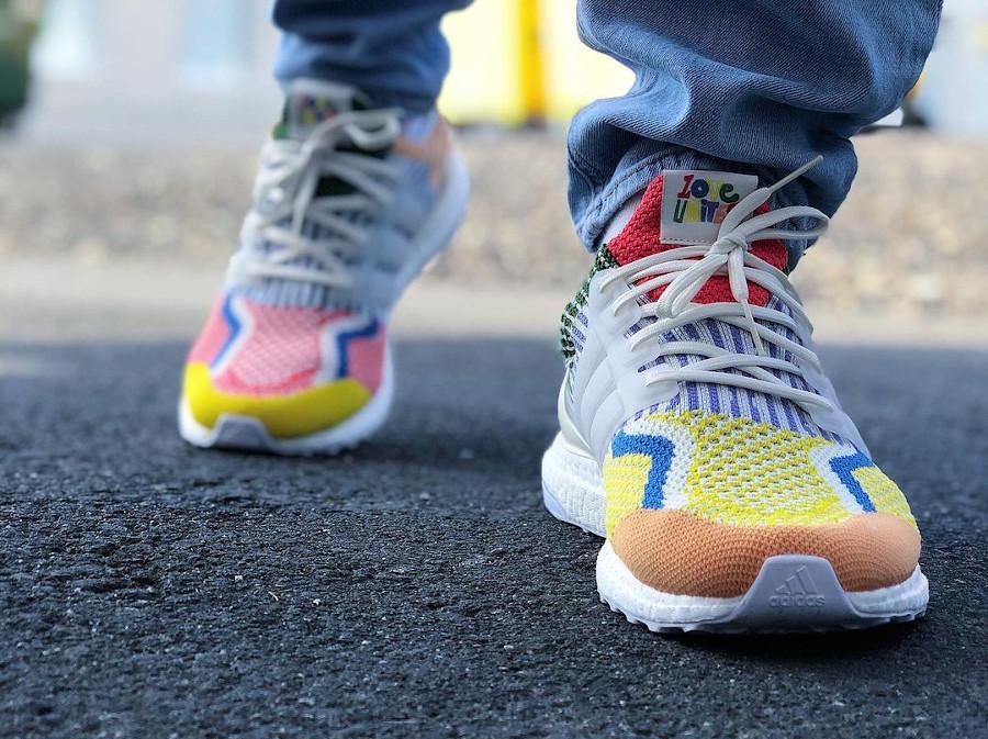 Adidas Ultra Boost Gay Pride 2021 on feet (2)