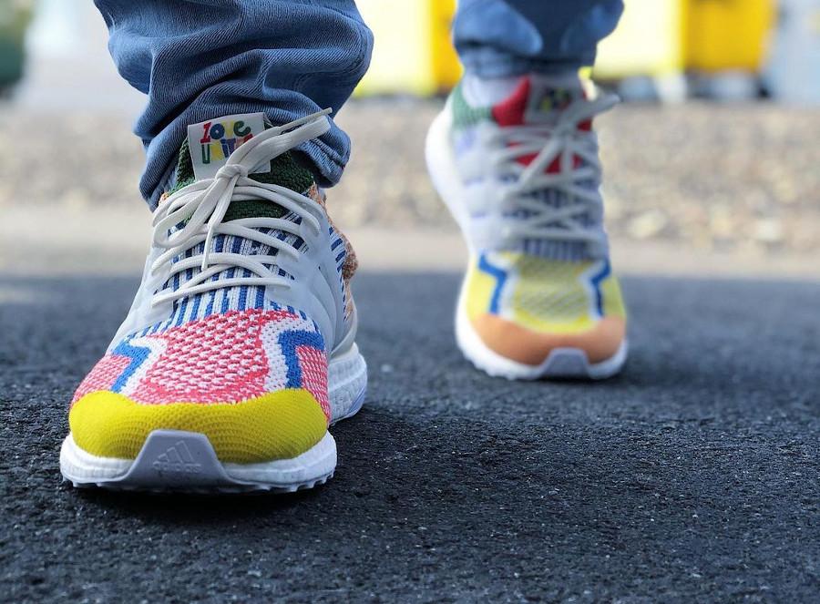 Adidas Ultra Boost Gay Pride 2021 on feet (4)