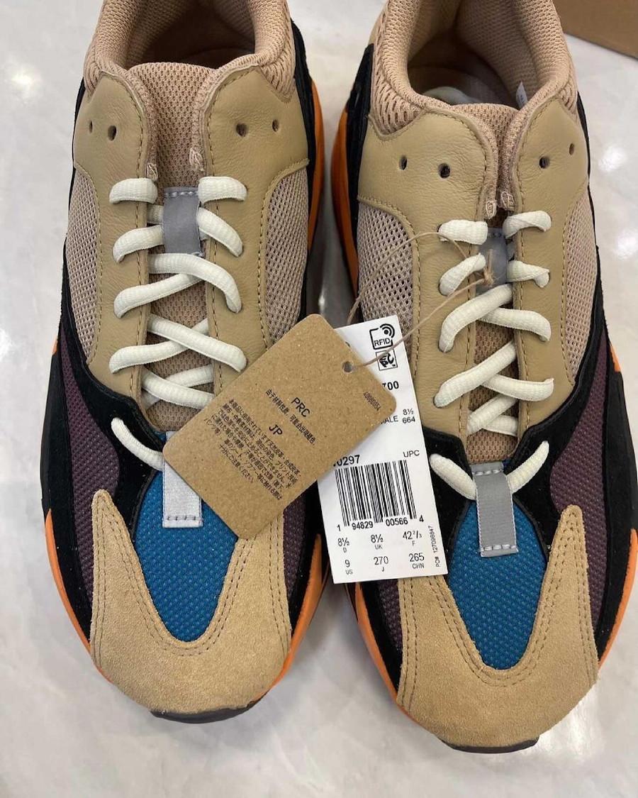 Adidas Yeezy 700 beige bleue et orange (4)