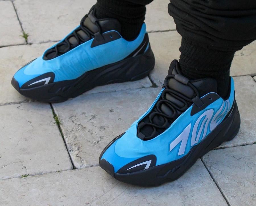 Adidas Yeezy Boost 700 MNVN Bright Cyan 3M Reflective
