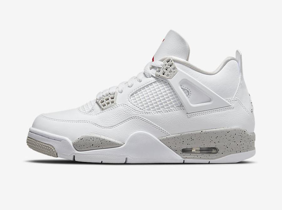 Air Jordan 4 Retro Tech White