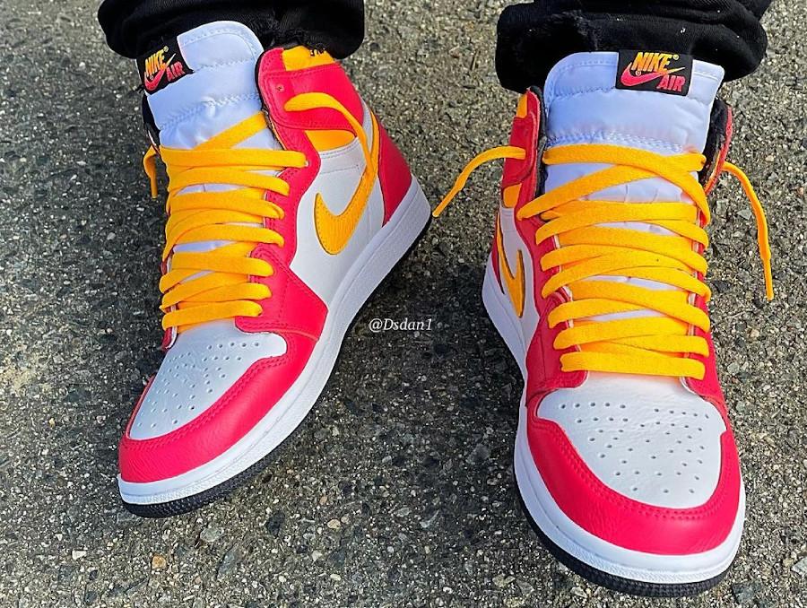Air Jordan One Hi McDonalds on feet (3)