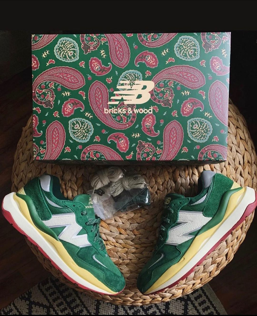 Bricks and Wood x New Balance 5740 From South Central With Love