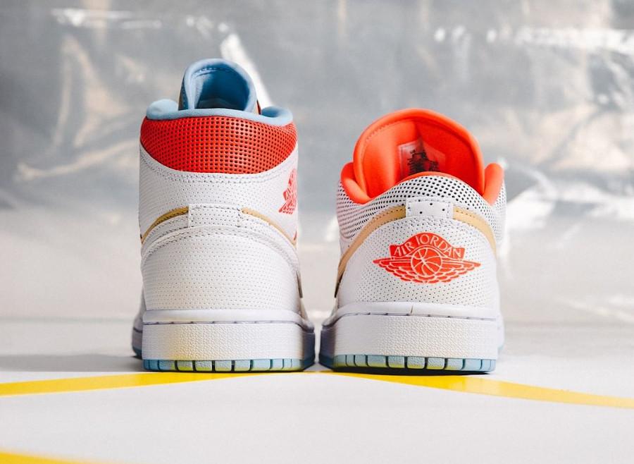 Le pack Women's Air Jordan 1 SE Sesame White