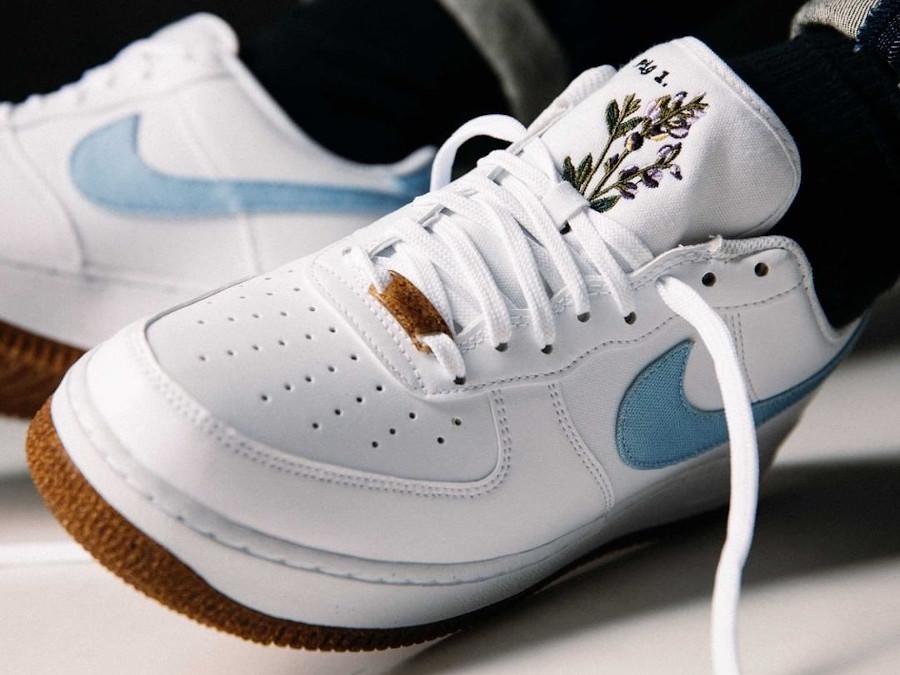 Nike AF1 '07 LV8 Indigo Plant Dye Cork Flora Pack