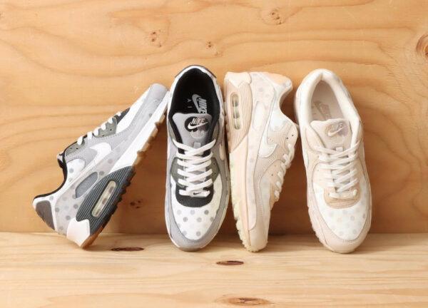 Nike AM90 NRG Polka Dot Venn Diagram White Shimmer